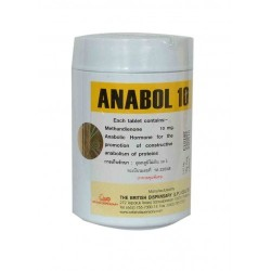 ANABOL 10MG - BRITISH DISPENSARY