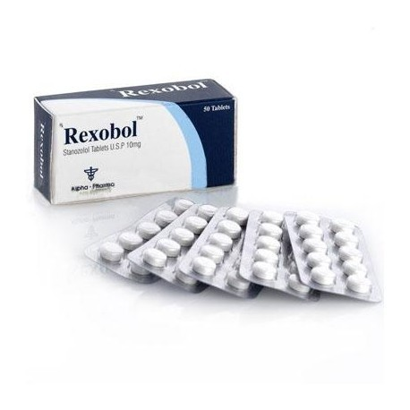 REXOBOL 10MG - ALPHA PHARMA