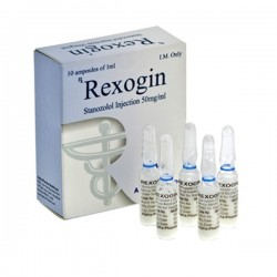 REXOGIN - ALPHA PHARMA